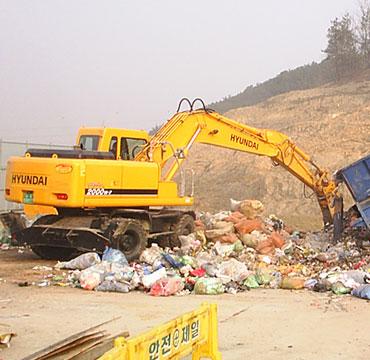 A hulladék összegyűjtése